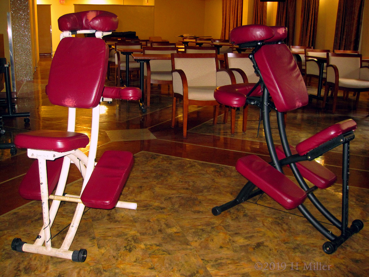 Chair Massage For A Nursing Home During Pride In Foodservice Week